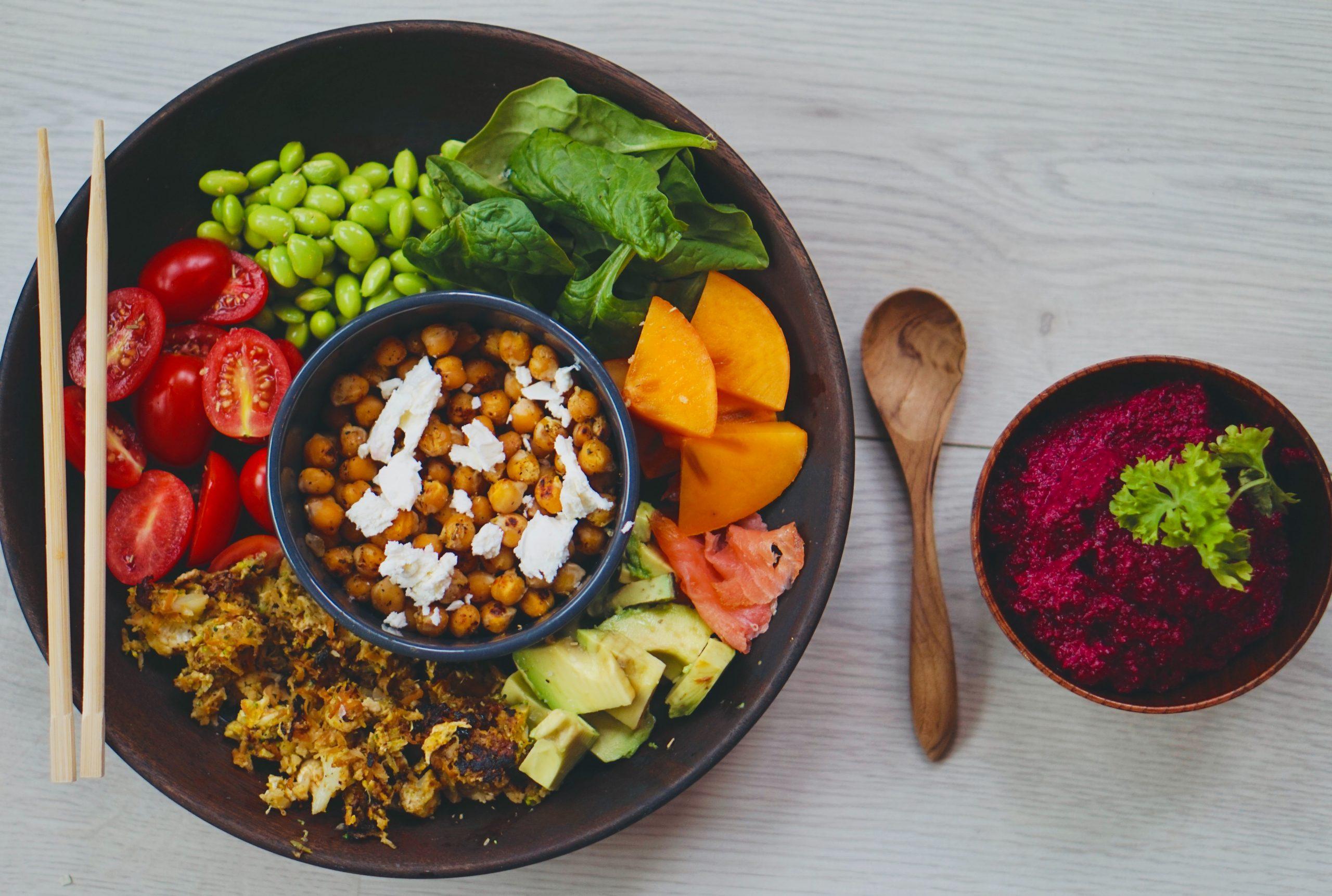 poke bowl végétarien